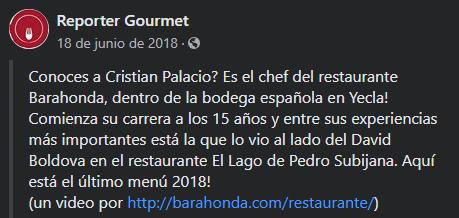 Reporter Gourmet