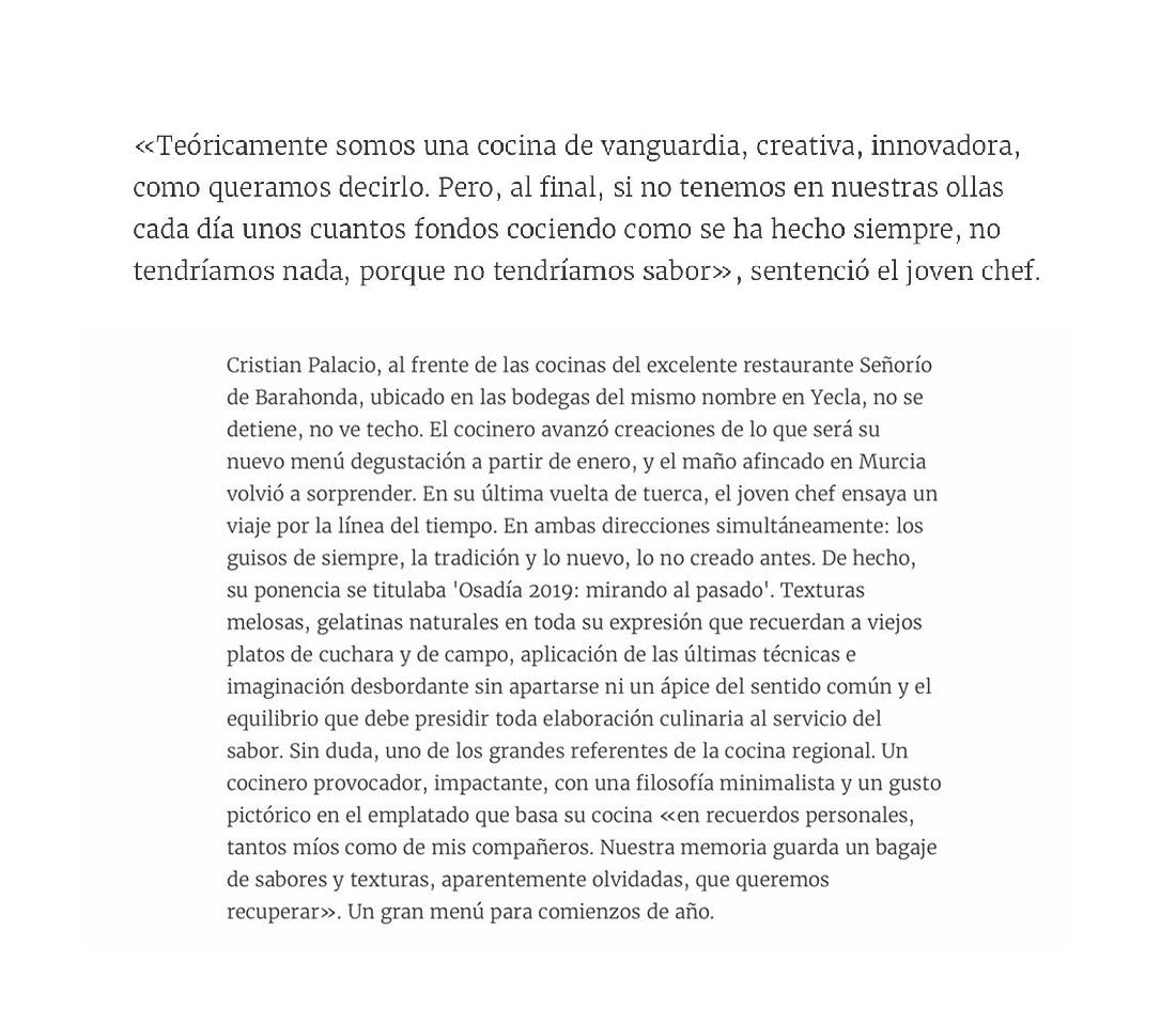 Texto de Pachi Larrosa sobre la ponencia Osadía 2019