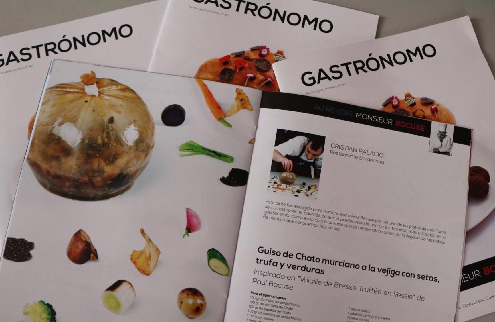 Revista Gastrónomo Nº40: Homenaje a Paul Bocuse